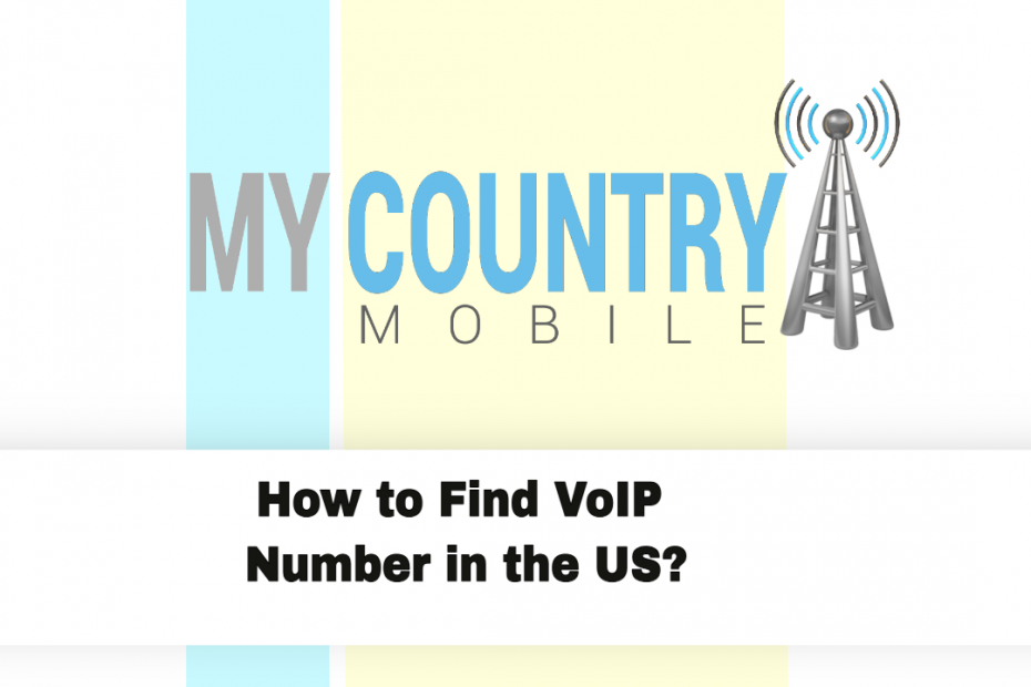How to Find VoIP Number in US? - My Country Mobile